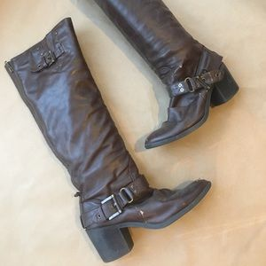 Style & Co. Brown Tall Boots (8.5)
